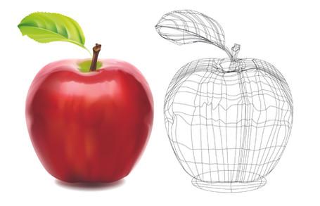 Gradient Mesh in Adobe Illustrator
