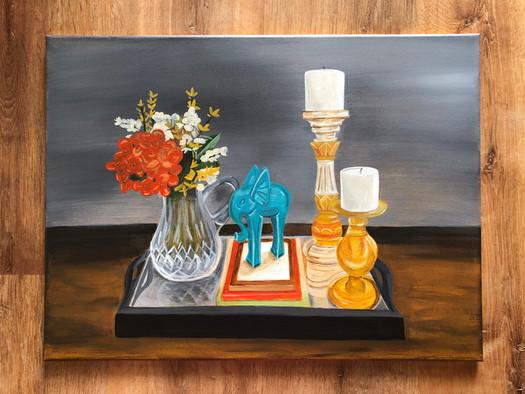 Still Life - Acrylic on Canvas