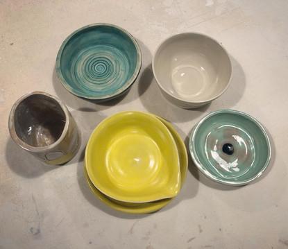 Wheel Thrown & Handbuilt Pottery