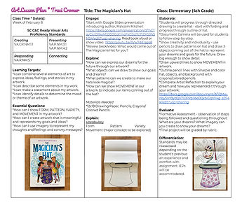 Art Lesson Plan _ Traci Cromer _ The Mag