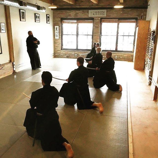 Tony Alvarez Sensei visits Shinjikai. Mu