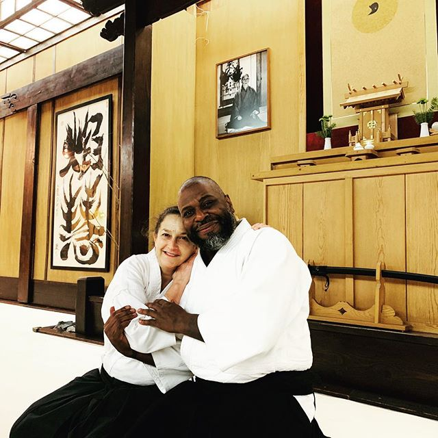 Marsha Turner Sensei and Keizan Murray S