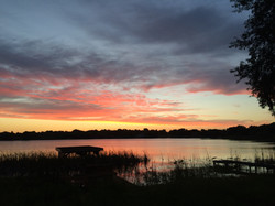Lakeshore Drive Sunset