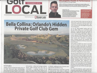 "Golf Real Estate Insider - Bella Collina Featured in W. Orange Times Observer's new ""Golf L"