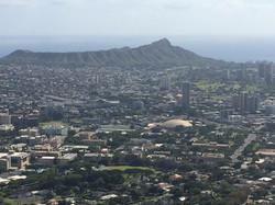 Diamond Head and Honolulu_edited