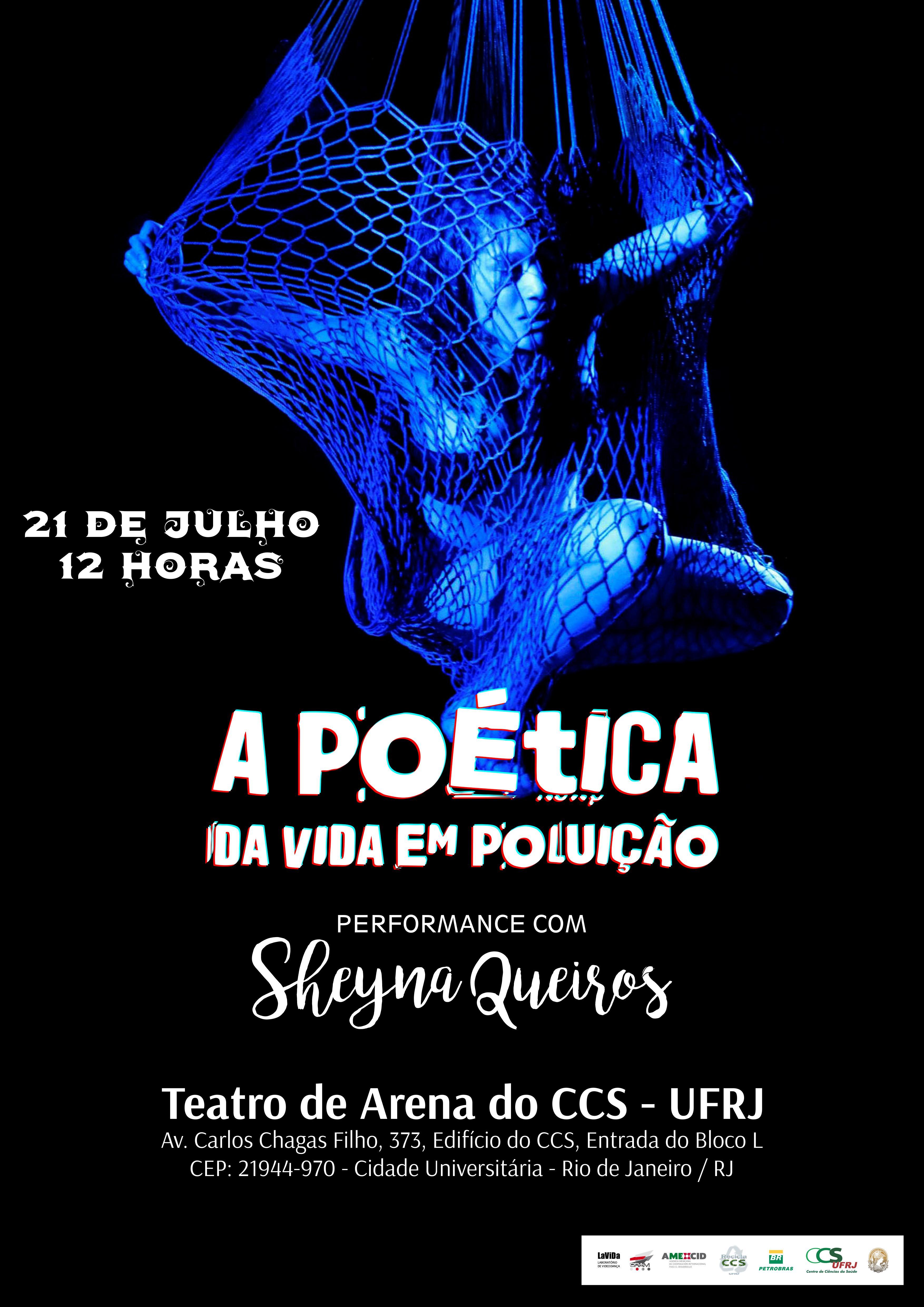 "Espetáculo ""A poética..."" na UFRJ"
