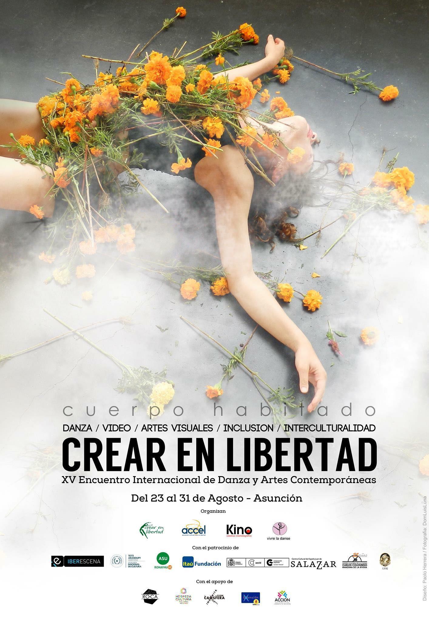15ème Festival International de danse y arts contemporains CREAR EN LIBERTAD