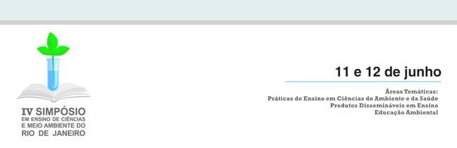 IV Symposium sur l'éducation et la science de l'environnement dans la ville de Rio de Janeiro - UFOA