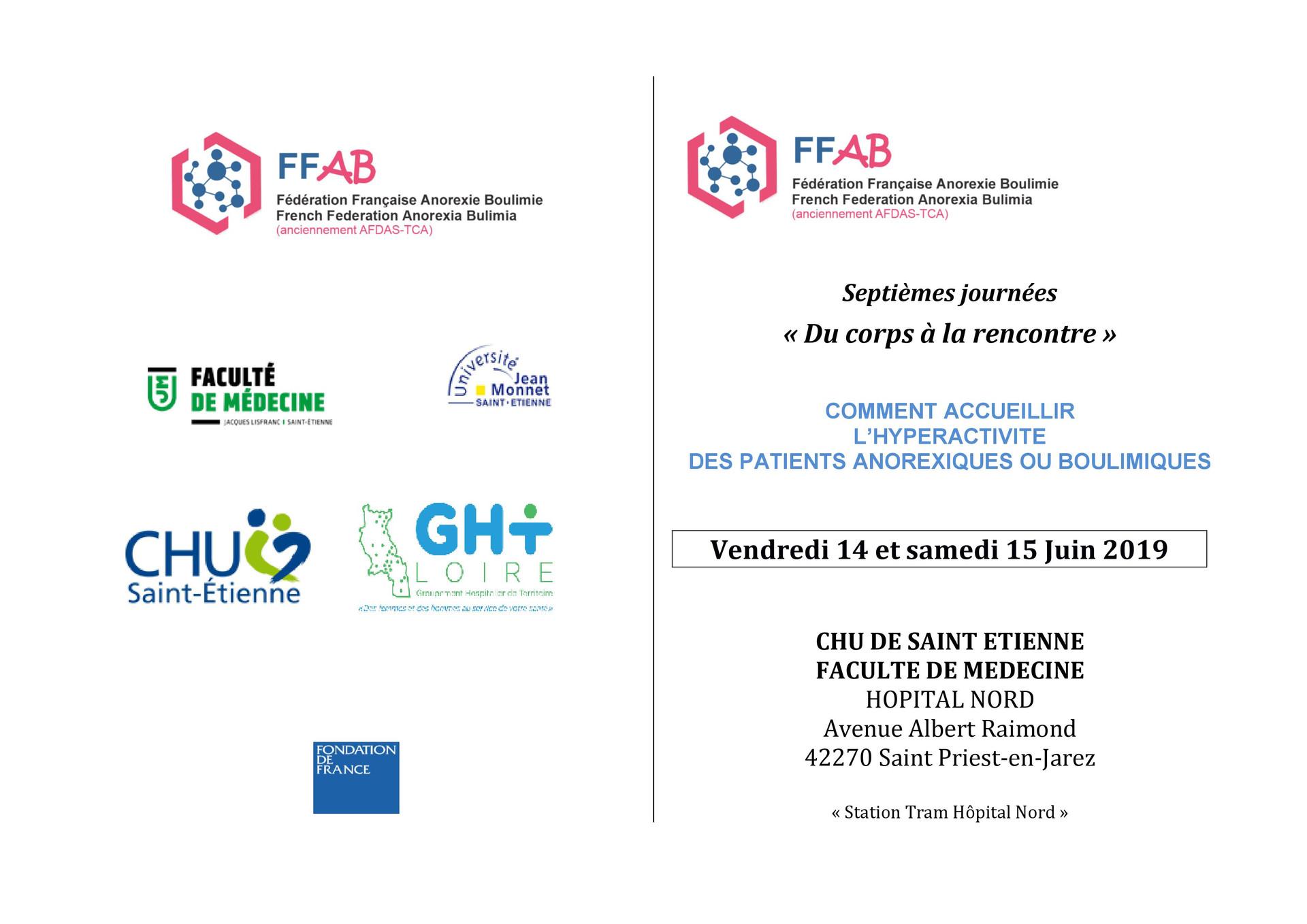 Colloque FFAB (Fédération française anorexie et boulimie)