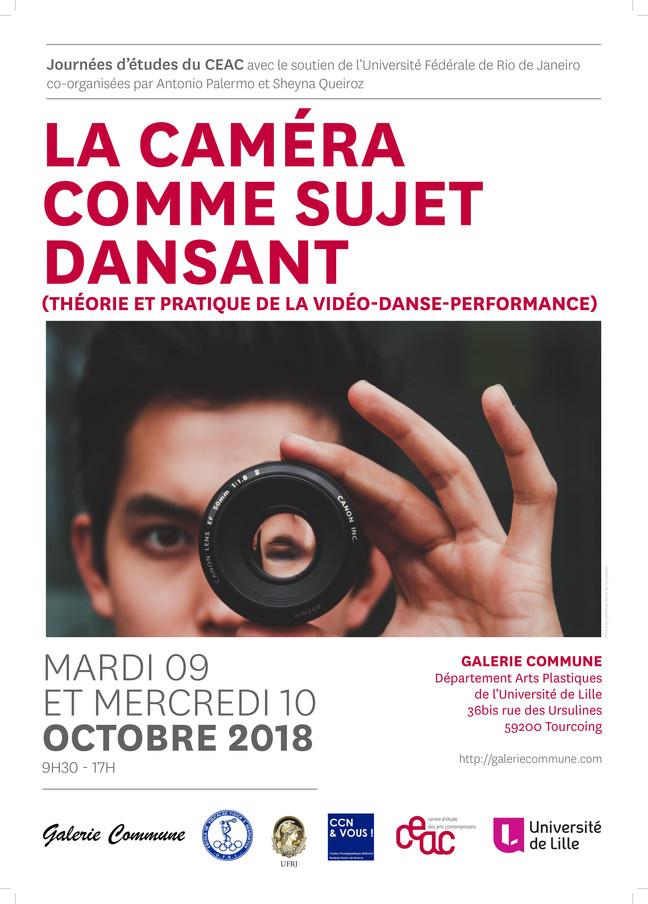 Journée d'études 'La Caméra comme sujet dansant'