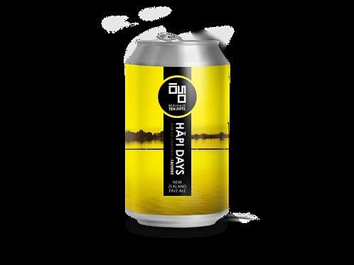 Hāpi Days: Taiheke Pale Ale (0,33l) x 24 Cans