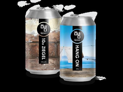 Gemischter Karton: Neue Biere (0,33l) x 24 Dosen