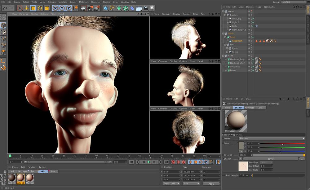 Blender Animation 3D Maya