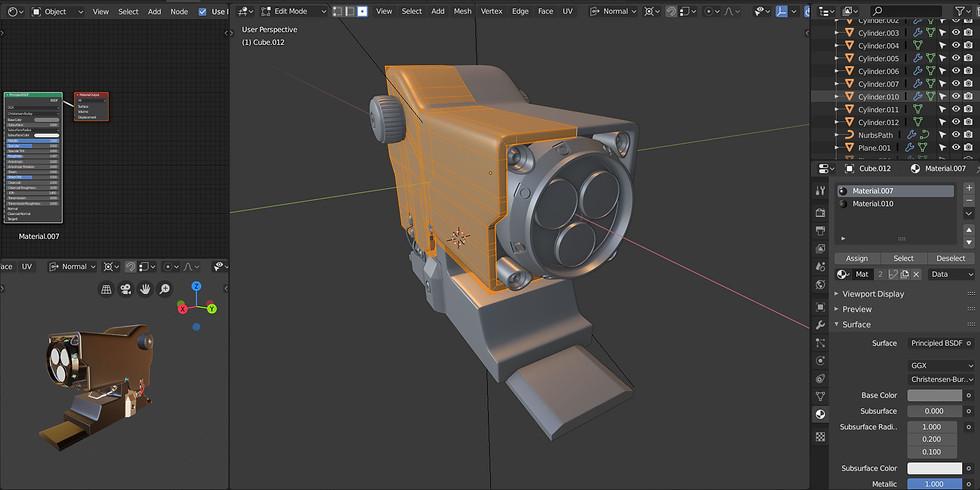 Curso de Diseño y Modelado en Blender