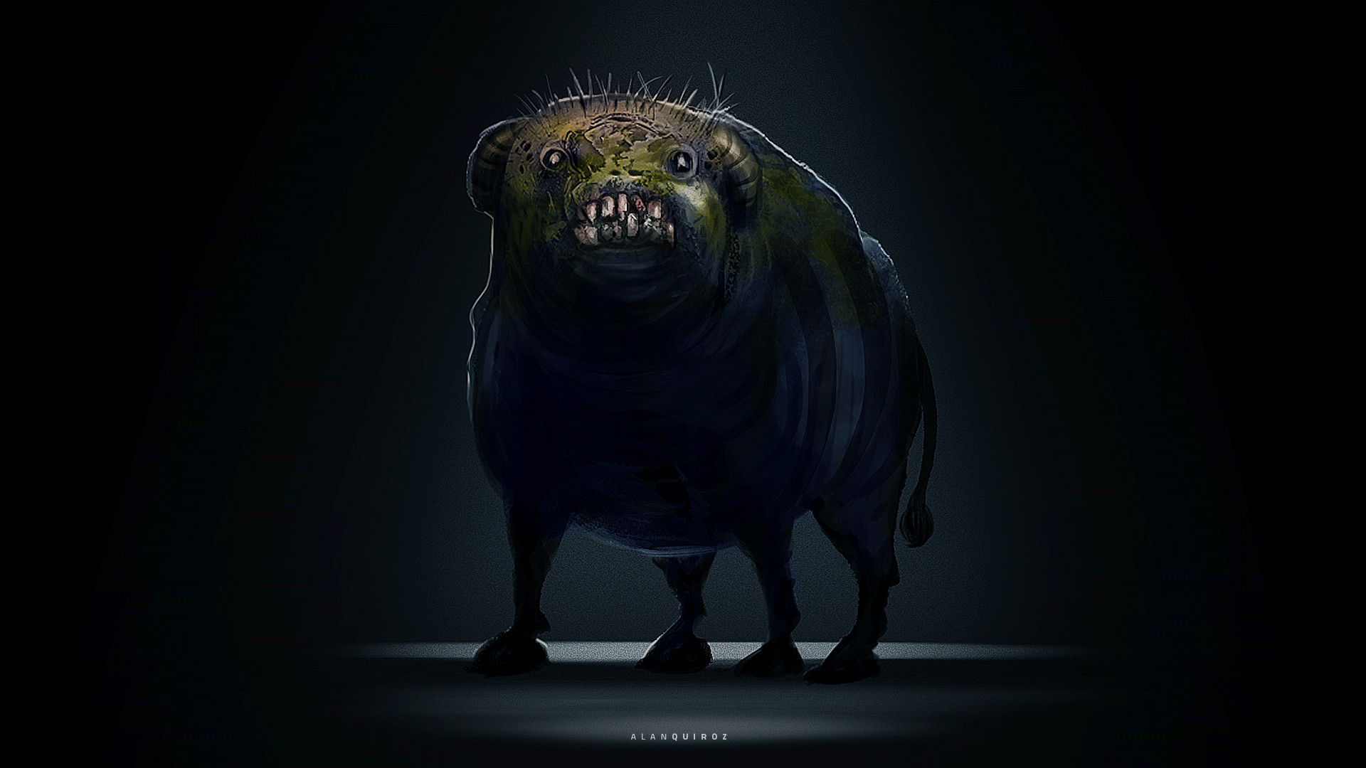Angry beast