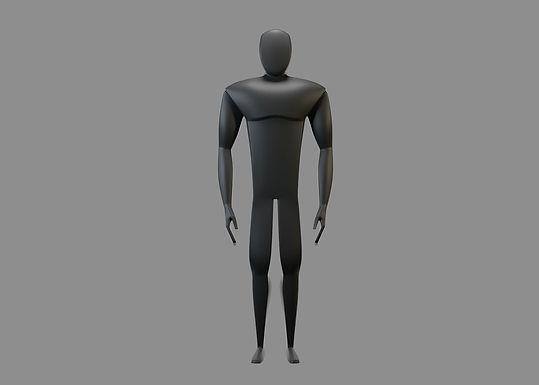 MODELO 3D: Héroe02 + Rig