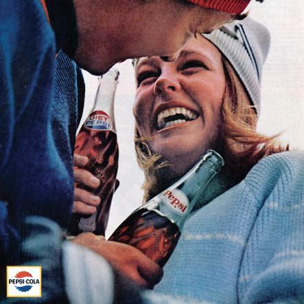 Campaña Pepsi Generation creada por Pottasch en la década de los 60.