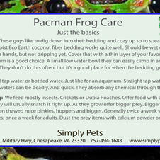 Pacman Frogs Side 2