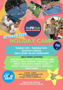 Kidfit Club October 2020