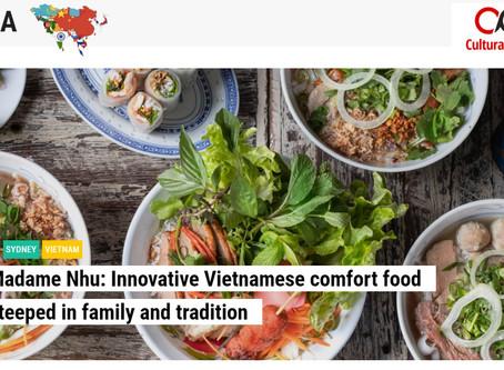 Madame Nhu featured in Cultural Pulse
