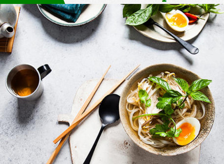 The origin of pho chicken soup (SBS interview)