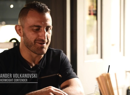"""The """"go to"""" dish for UFC champ Alex Volkanovski before every fight"""