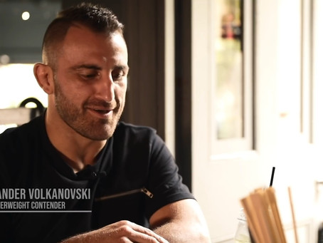 "The ""go to"" dish for UFC champ Alex Volkanovski before every fight"
