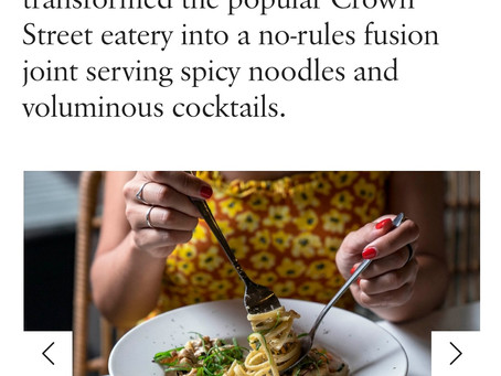 """Broadsheet Review - """"a no-rules fusion joint serving spicy noodles and voluminous cocktails"""" 29/1/20"""