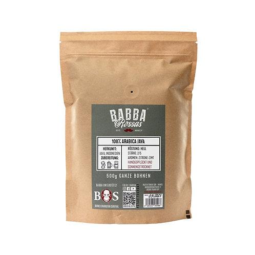 "Filterkaffee Arabica ""Java"" (3.18€/100g)"