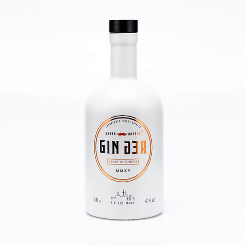 GINger Gin - Beast of Ginger   0.7l     40% (57 €/l)