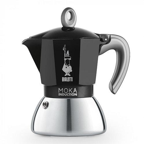 Bialetti Espressokocher New Moka Induktion schwarz