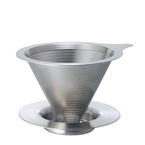 Hario Stahlfilteraufsatz Double Mesh Metal Dripper 02