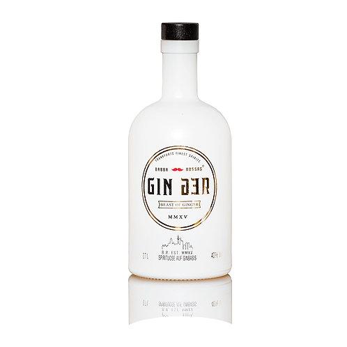 GINger Gin - Beast of Ginger | 0.7l  |  40% (57 €/l)