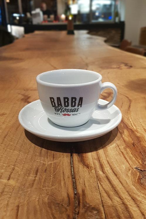 6er Set Kaffee/Cappuccino Tassen mit Unterteller