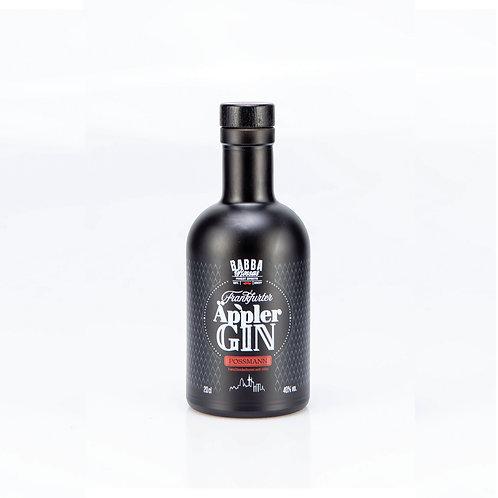 "Frankfurter Äppler Gin | 0.2l  |  40% (84.5 €/l)  |  Powered by ""POSSMANN"""
