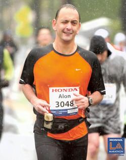 Alon, LA marathon, 2011
