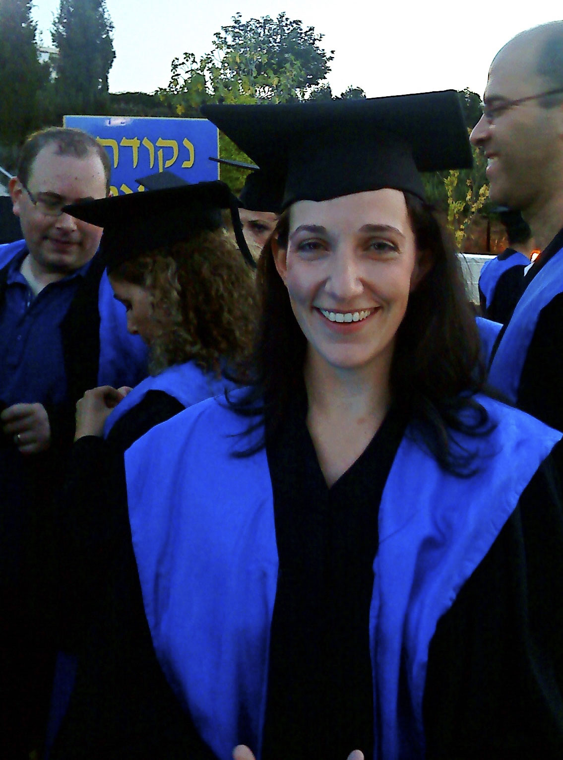 Naomi a her PhD ceremony
