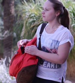 Anna in Ein-Gedi 2015