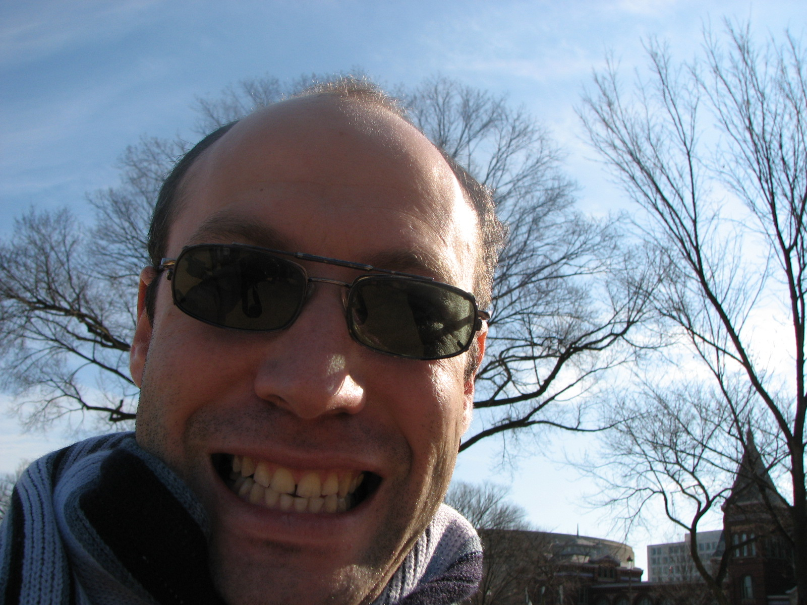 Dan's selfie, Washington 2008