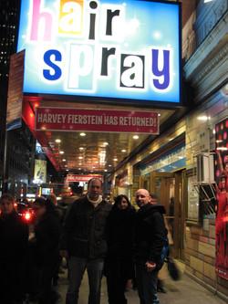 Dan, Mara & Ziv, Broadway NY, 2008