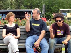 Angelika, Meron & Roy, Berlin 2009