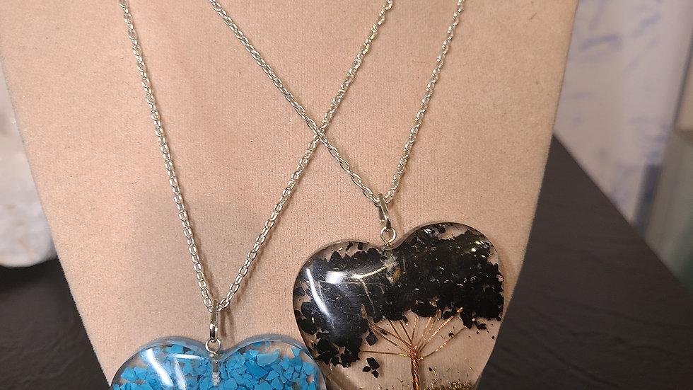 Gemstone Tree Necklace