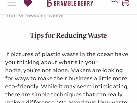 Tips for Reducing Waste