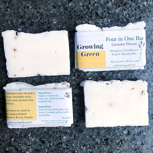Lavender Four-In-One Bar