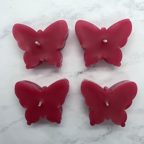 Floral Butterfly Tealight