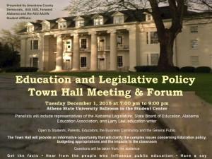 Final Limestone Education Town Hall Forum Pic