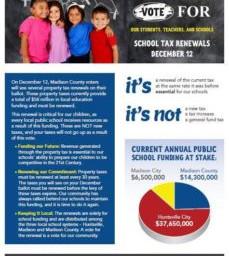 Vote FOR School Tax Renewals Dec. 12