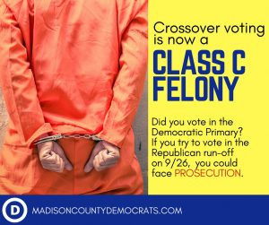 Crossover Voting Could Land You in Prison