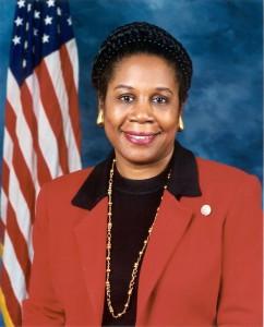 Congresswomen Sheila Jackson
