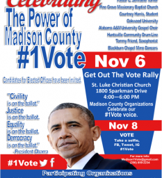 GET OUT THE VOTE RALLY!